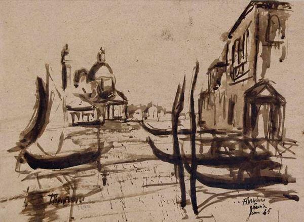 FERRUCCIO  BORTOLUZZI - Venezia 1945