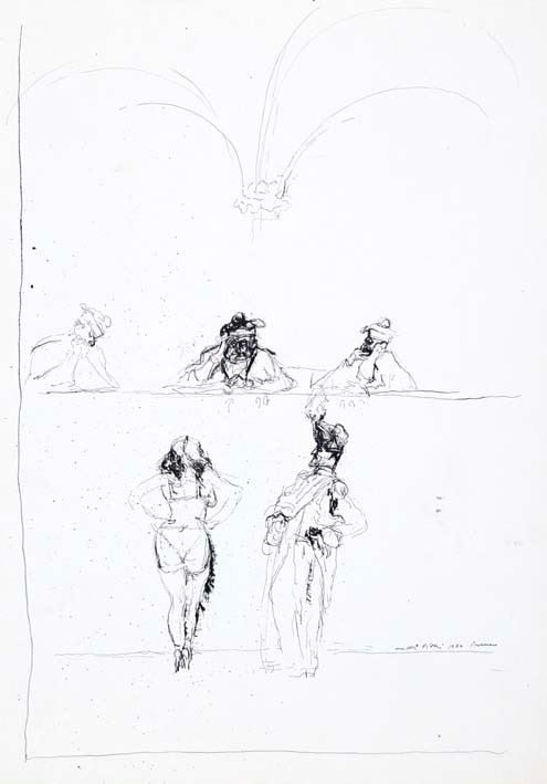 WALTER PIACESI - Figure 1974