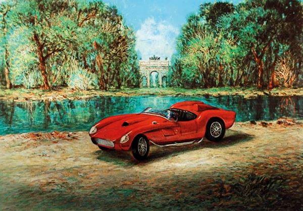 GIOVAN FRANCESCO GONZAGA - La Ferrari testa rossa del Nivola 2007