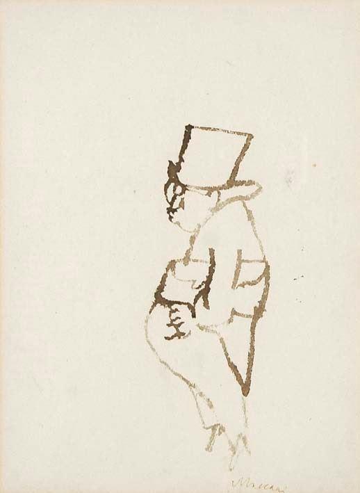 MINO MACCARI - Figura (1940/50)