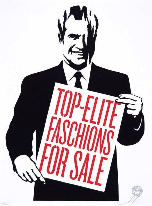 FRANK SHEPARD FAIREY - Top-elite faschions for sale