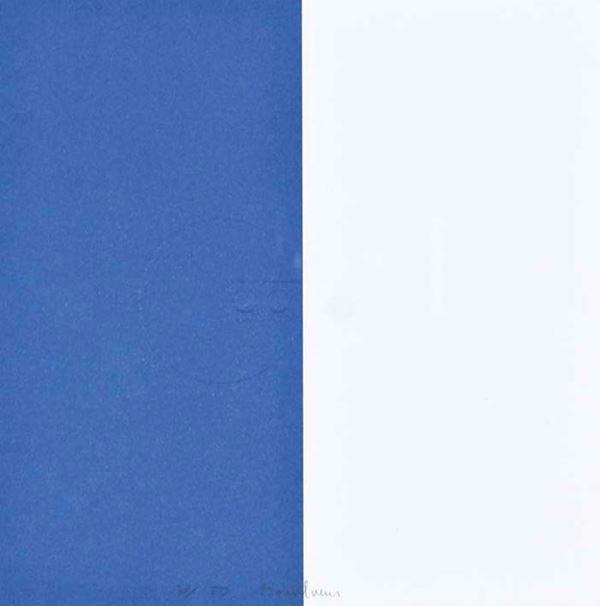AGOSTINO  BONALUMI - Blu/bianco