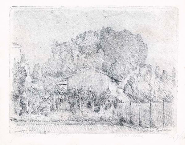 GIOVANNI BARBISAN - Verso sera 1937