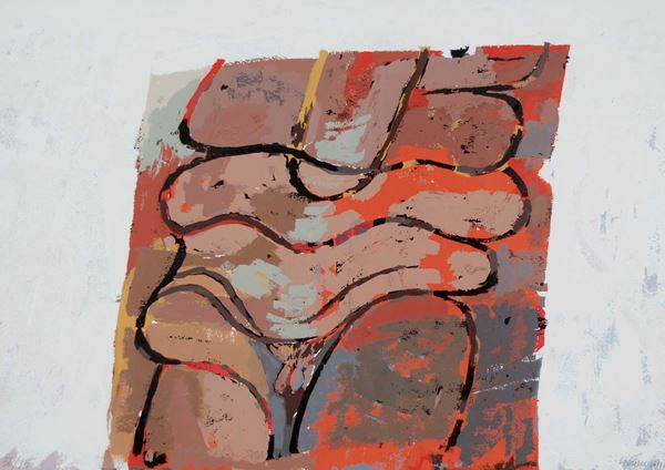 MIGUEL BERROCAL - Composizione 1976