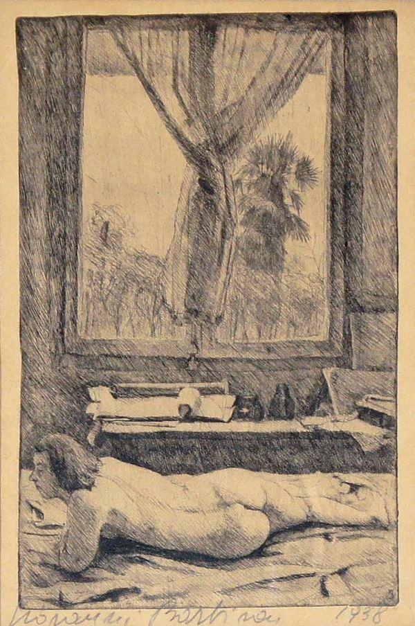 GIOVANNI BARBISAN - Finestra 1938