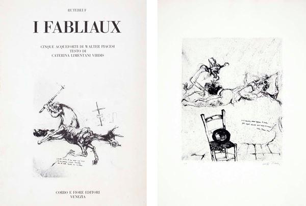 WALTER PIACESI - I Fabliaux 1974
