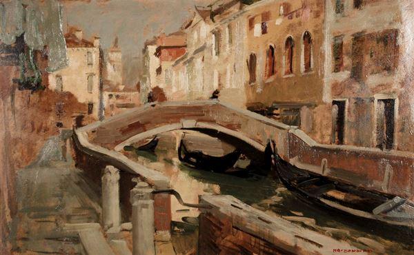 MARCO NOVATI - Canale veneziano