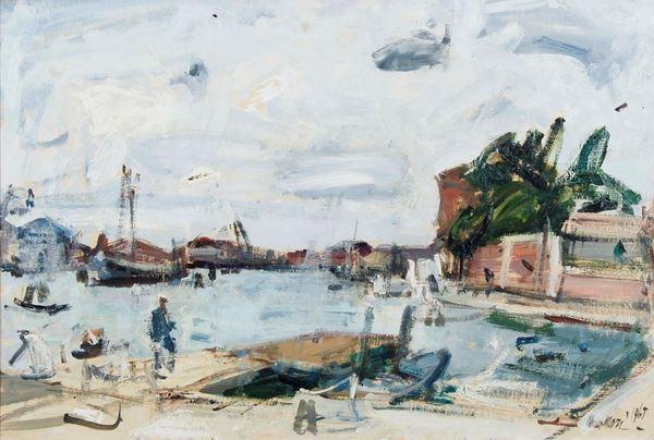NENO MORI - Punta della Dogana (temporale) 1965
