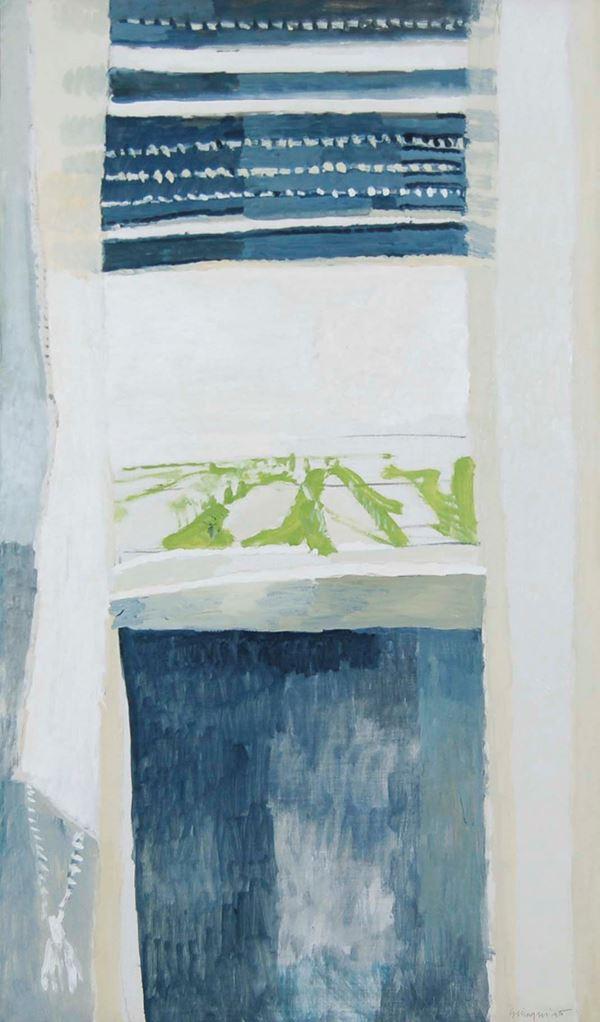 ALBERTO GIANQUINTO - Cielo bianco II 1970