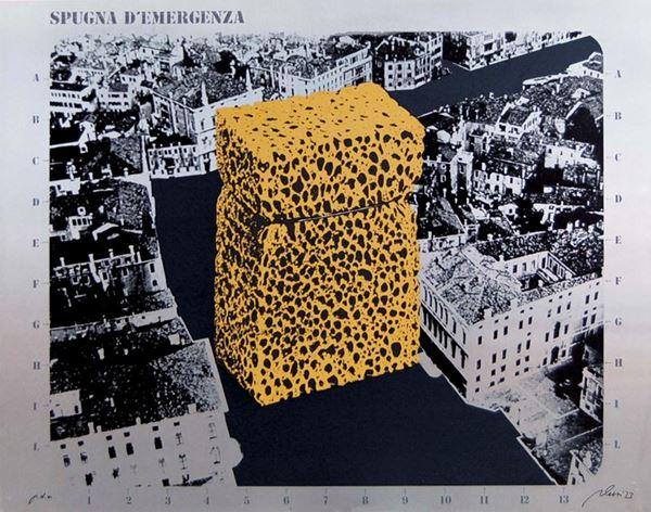 FABRIZIO PLESSI - Spugna d'emergenza 1973