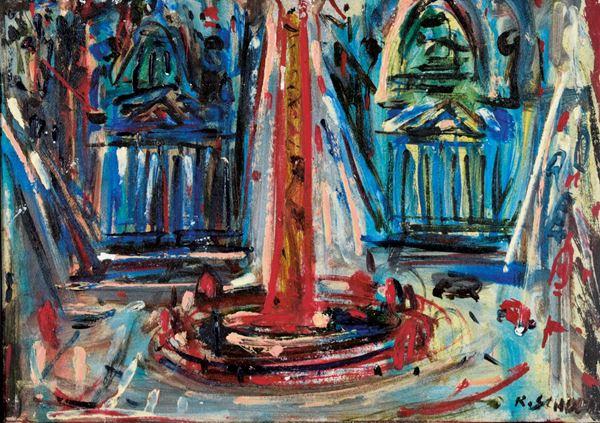 RAOUL SCHULTZ - Piazza del popolo