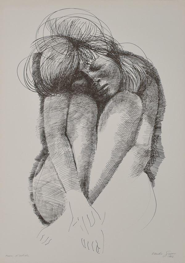 EMILIO GRECO - Nudo
