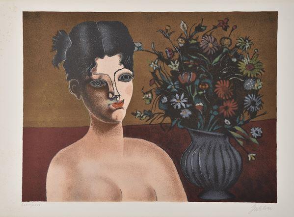 FRANCO GENTILINI - Nudo femminile