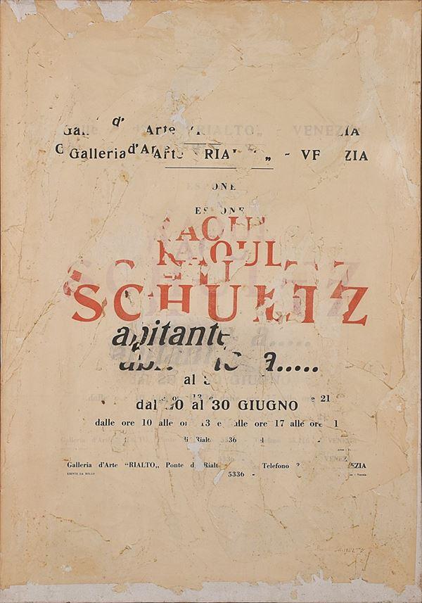 RAOUL SCHULTZ - senza titolo