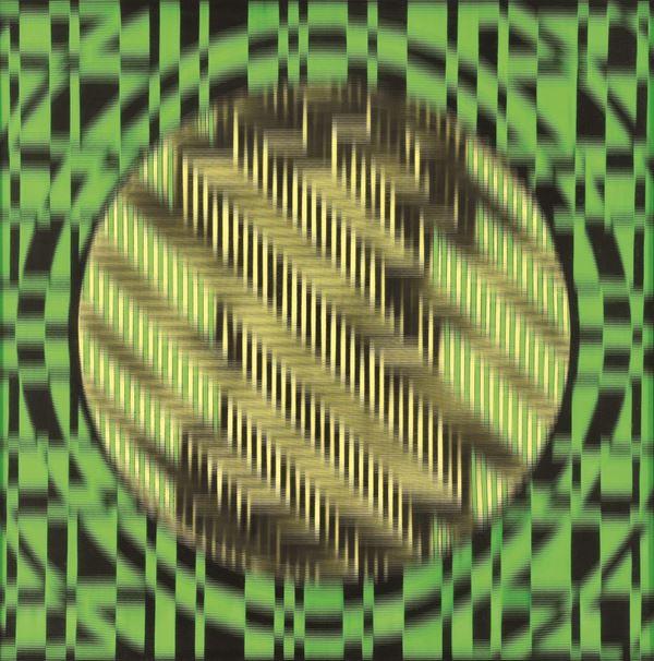 GUIDO  BALDESSARI - Vibrazione in giallo