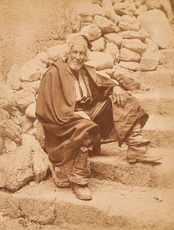 ALINARI EDIZIONI - Girgenti, un vecchio