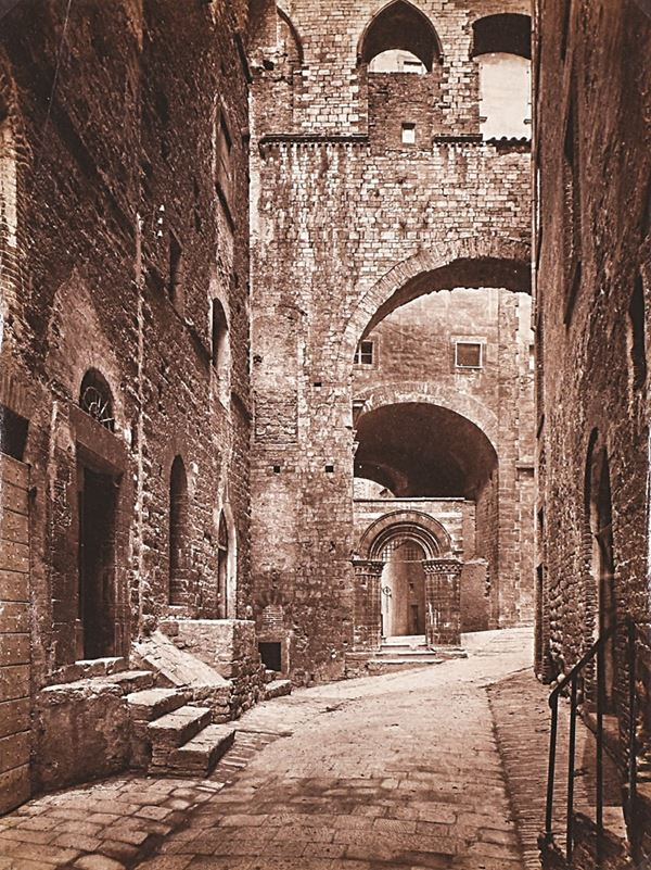JAMES ANDERSON - Perugia, Maestà delle volte, Antico Palazzo del Popolo