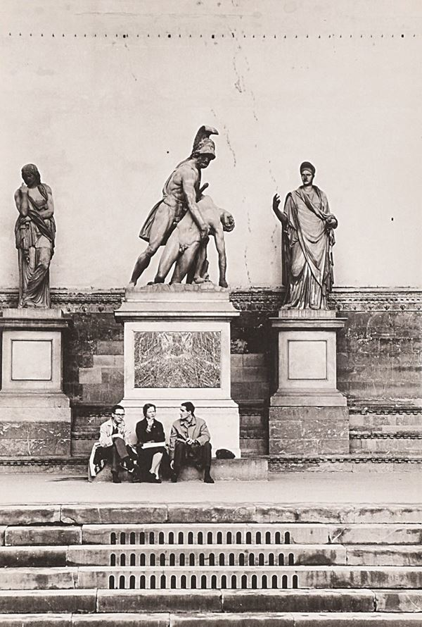FULVIO ROITER - Firenze, Loddia dei Lanzi