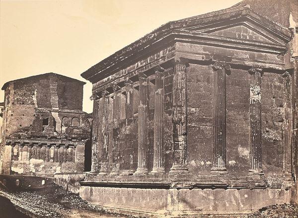 ROBERT MACPHERSON - Roma, Tempio della fortuna virile e casa dei Renzi
