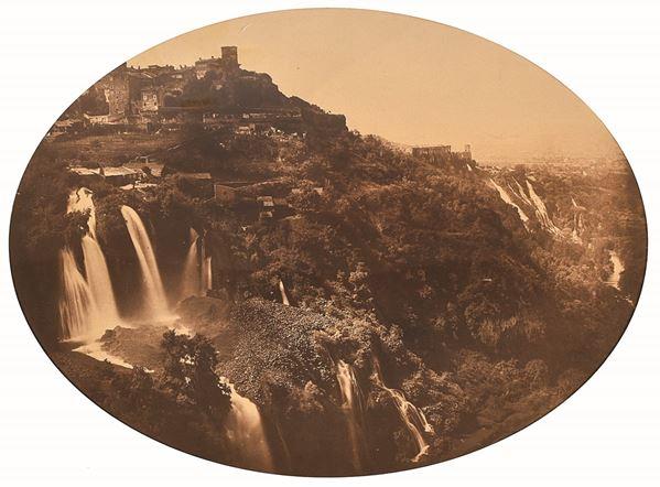 ROBERT MACPHERSON - Tivoli: La valle dell'Anio con le cascatelle