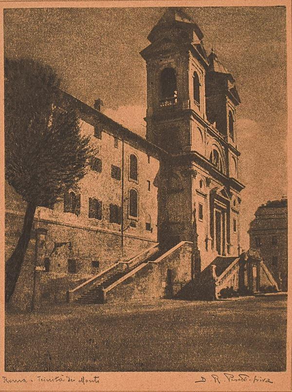 DOMENICO RICCARDO PERETTI GRIVA - Roma: Trinità dei Monti
