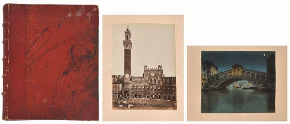 ANTONIO PERINI & AUTORI VARI - Album:  Venezia (chiari di luna), Pisa, Firenze, dipinti e disegni
