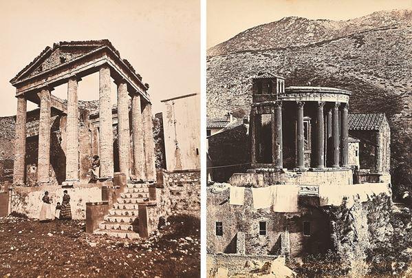ANONIMO - Cori,  Tempio d'Ercole - Tivoli,  Tempio della Sibilla