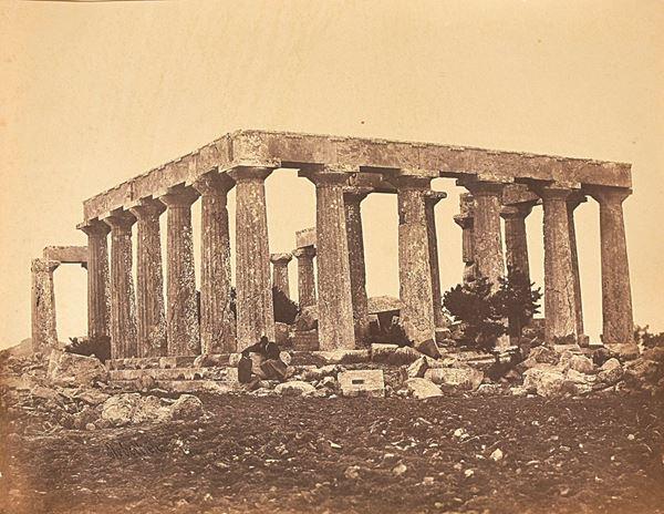 JAMES ROBERTSON - The temple of Aphaia, Aegina
