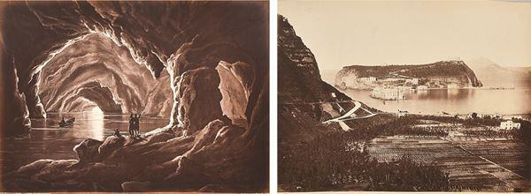 GIORGIO SOMMER - Capri, Grotta Azzurra - Nisida