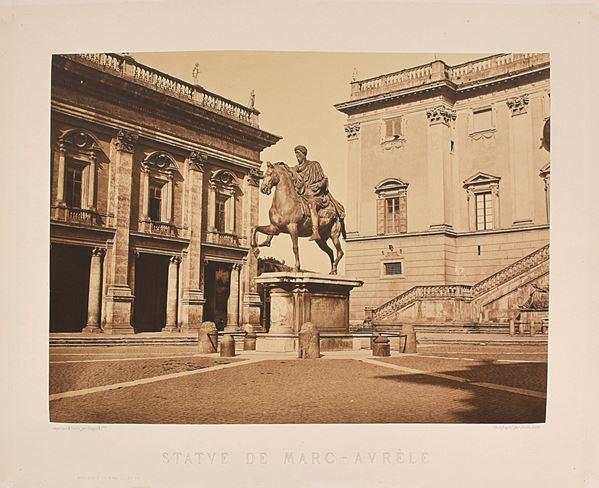 AUGUSTE-ROSALIE BISSON - Statue de Marc Aurèle