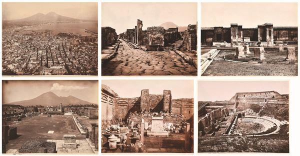 GIORGIO SOMMER - Napoli, veduta - Pompei (5)
