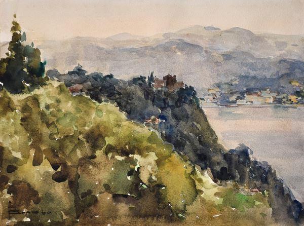 ANGELO BROMBO - Paesaggio
