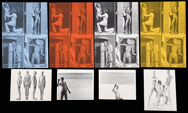 """GUGLIELMO ACHILLE CAVELLINI - Dalla performance di Guglielmo Achille Cavellini """"Scrivere la propria storia sul corpo di una donna"""""""