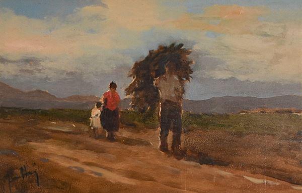 ANONIMO - Raccoglitori di legna