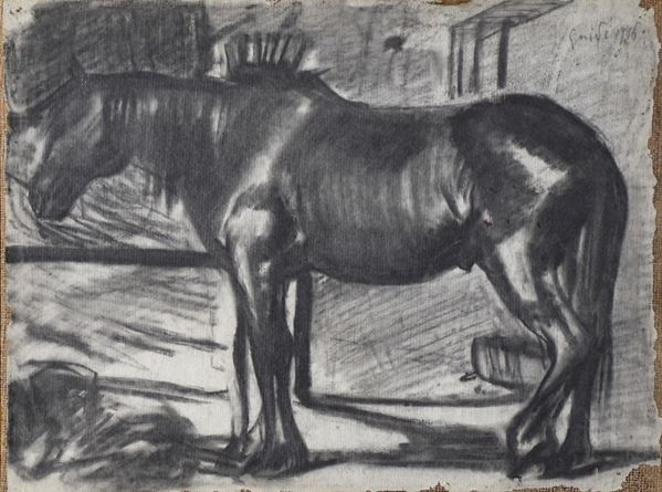 VIRGILIO GUIDI - Cavallo