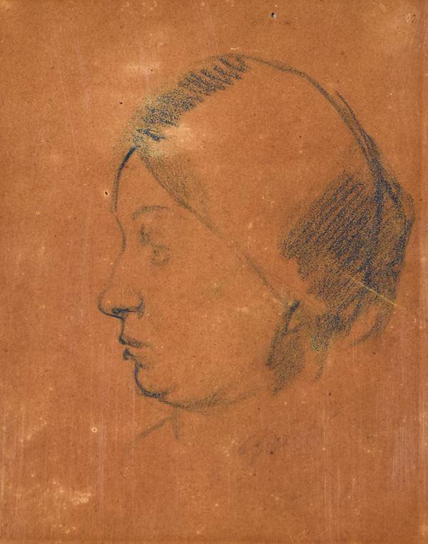 VIRGILIO GUIDI - Ritratto di Adriana